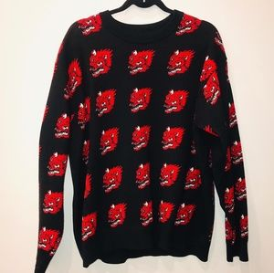 Dragons Oversized Style Sweater